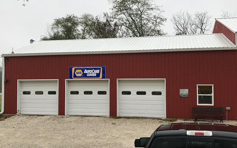 Hancock Auto Repair Building