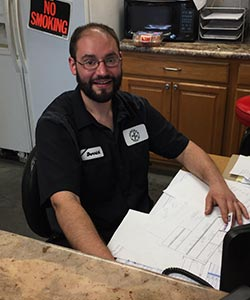 Derrick Clementz - Office Guy at Hancock Repair